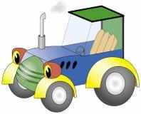 Vector tractor Stock Afbeelding