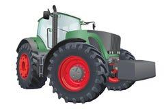 Vector tractor Stock Photo