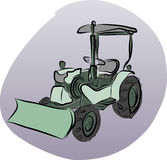 Vector of Tractor Royalty Free Stock Images