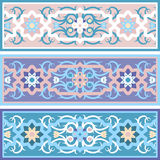 Vector Traditional Muslim floral  ornament Stock Photography