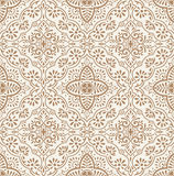 Vector traditional seamless wallpaper Stock Images