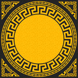 Vector Traditional vintage gold Greek ornament (Me Stock Image