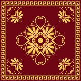 Vector Traditional vintage gold Greek ornament (Me Stock Photos