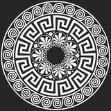 Vector Traditional vintage Greek ornament (Meander) Royalty Free Stock Images