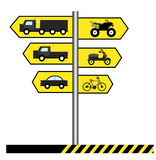 Vector Traffic Signs Stock Photo