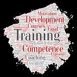 Vector training, coaching or learning, study vector illustration