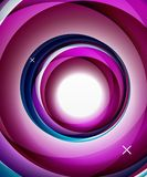Vector transparent color wave lines abstract background, glossy glass waves, vector abstract backgrounds, shiny light. Effects templates for web banner Stock Images