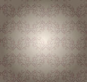 Vector transparent pattern  on beige. Stock Images