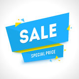 Vector Transparent SALE banner Royalty Free Stock Images
