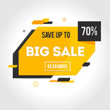 Vector Transparent SALE banner Royalty Free Stock Photo