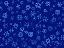 Vector  transparent snowflakes Royalty Free Stock Photos