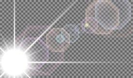 Eps10.Vector transparent sunlight special lens flare light effect. Vector transparent sunlight special lens flare light effect Royalty Free Stock Image