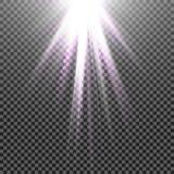Vector transparent sunlight special lens flare light effect. Eps10. Vector transparent sunlight special lens flare light effect Royalty Free Stock Photos