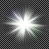 Vector transparent sunlight special lens flare light effect. Eps10. Vector transparent sunlight special lens flare light effect Stock Photo