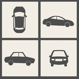 Vector transport icons Stock Image