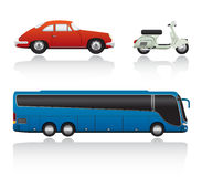 Free Vector Transport Set Stock Photography - 6746522