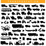 Vector Transportation Pictogram Stock Images