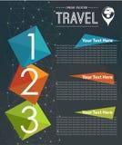 Vector Travel brochure, flyer Stock Image