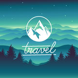 Vector travel concept Stock Photography