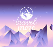 Vector travel concept and logo design element Stock Photography
