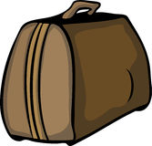 Vector travelling bag Royalty Free Stock Photos