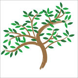 Vector tree  Royalty Free Stock Photography