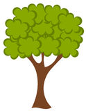 Vector tree Royalty Free Stock Photos
