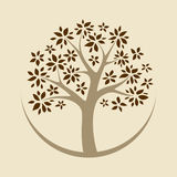 Vector tree Royalty Free Stock Images