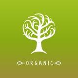 Vector tree logo stock illustration