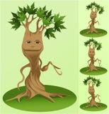 Vector tree mascot Royalty Free Stock Photos