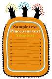 Vector tree text. Vector Illustration of tree text Stock Photo