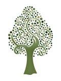 Vector tree 18 Royalty Free Stock Image