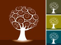 Vector Trees Stock Images