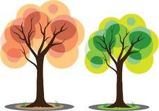 Vector Trees Stock Photos