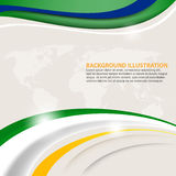 Vector trendy abstract background Royalty Free Stock Images