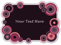 Vector Trendy Cirlce Banner Stock Photo
