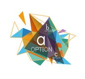 Vector triangle abstract background, low poly concept. Vector triangle abstract background with wire triangular elements, low poly concept, minimal modern vector illustration