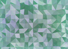 Vector triangle mosaic background with transparencies in blue colors Royalty Free Stock Photos