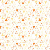 Vector triangle pattern Stock Photography