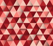 Vector triangular abstract geometric background Stock Photo