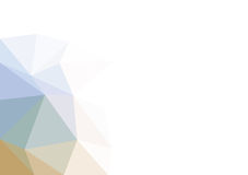 Vector triangular background low poly gradient. Geometric multicolor triangular low poly gradient illustration for graphic background. Vector design texture Royalty Free Stock Photography