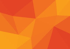 Vector triangular background low poly gradient. Geometric multicolor triangular low poly gradient illustration for graphic background. Vector design texture Stock Image