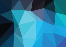 Vector triangular background low poly gradient. Geometric multicolor triangular low poly gradient illustration for graphic background. Vector design texture Stock Photos