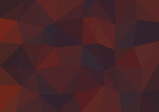 Vector triangular background low poly gradient. Geometric multicolor triangular low poly gradient illustration for graphic background. Vector design texture Stock Images
