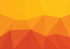 Vector triangular background low poly gradient. Geometric multicolor triangular low poly gradient illustration for graphic background. Vector design texture Royalty Free Stock Image