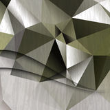 Vector triangular elements business background Royalty Free Stock Photography