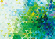 Vector Triangular Pattern Background Design Stock Photography