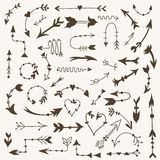 Vector Tribal Arrow Signs Stock Photography