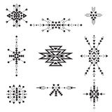Vector Tribal Collection Stock Images