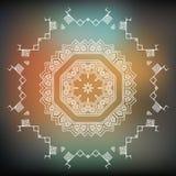 Vector Tribal element, ethnic collection. Aztec stile, tribal art. Aztec icon, logo design Royalty Free Stock Images